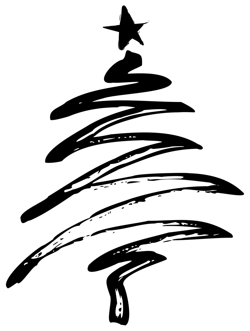 Christmas Tree Line Drawing Images : Our opening times for the christmas and new year period