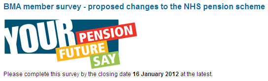 BMA Member Survey on Pensions Proposals