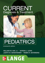 Current Diagnosis and Treatment : Pediatrics